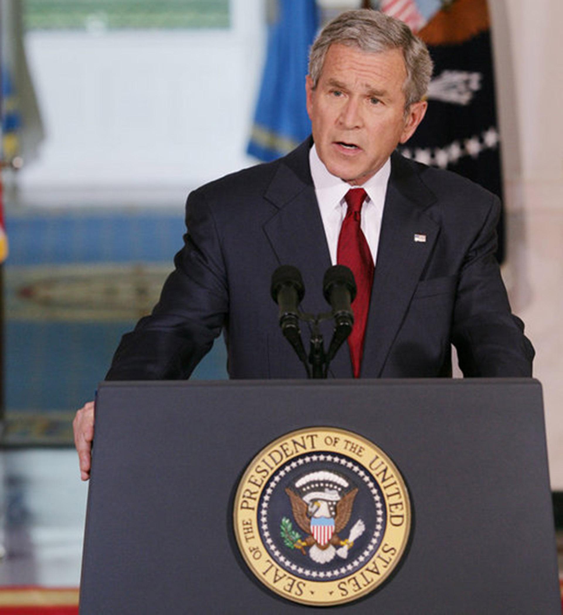 Statement on Iraq War Supplemental. State Floor.
